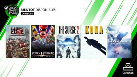 Xbox Game Pass : Ace Combat 7, The Surge 2... les jeux de fin mars annoncés