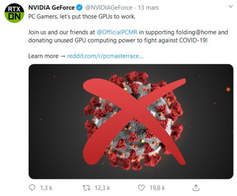 Covid-19 : la puissance de votre PC peut aider la recherche contre le Coronavirus