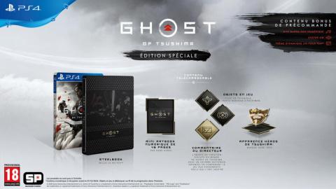 Ghost Of Tsushima : Les précommandes PS4 en promotion chez Micromania