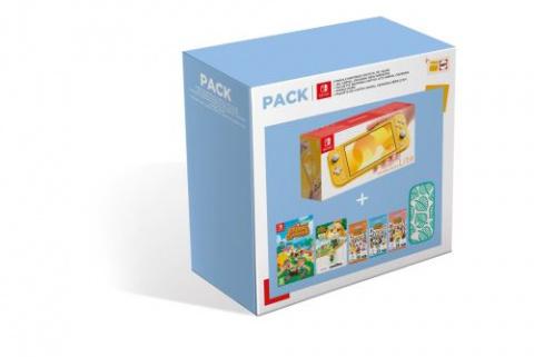 Nintendo Switch : Bon plan Fnac avec le pack Animal Crossing en promotion