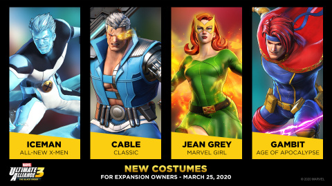 Marvel Ultimate Alliance 3 : une nouvelle fournée de costumes arrive