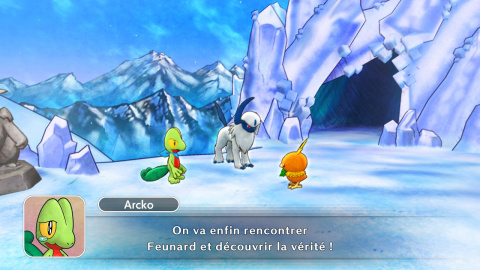 Mission 10 : Rencontre avec Feunard au Mont Glacial