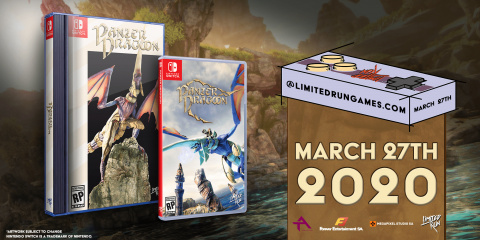 Panzer Dragoon : Remake est dès maintenant disponible sur Nintendo Switch