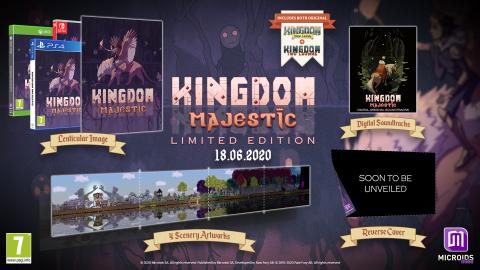 La compilation Kingdom Majestic se trouve une nouvelle date de sortie