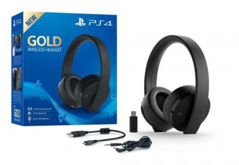 PS4 : Casque Gold Sony + un jeu en promotion à la Fnac