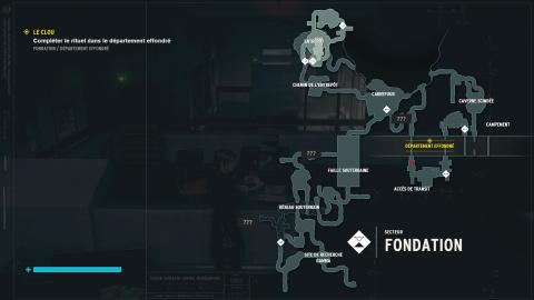 La Fondation - Correspondance