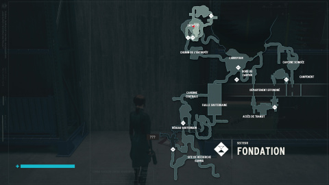 Lieux secrets de la Fondation
