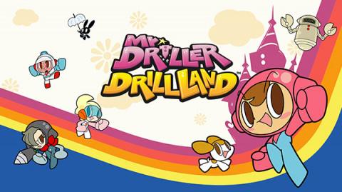 Mr. Driller DrillLand sur Switch