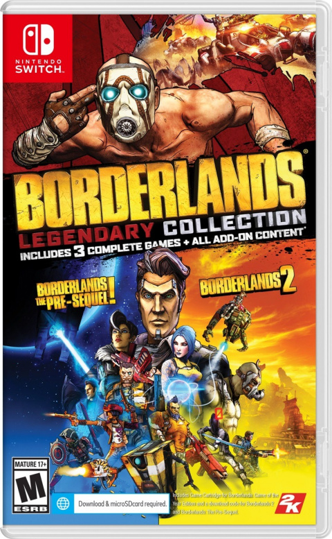 Borderlands Legendary Collection sur Switch