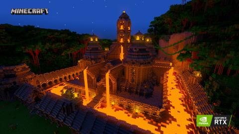 Minecraft : Nvidia présente de nouveaux mondes en RTX