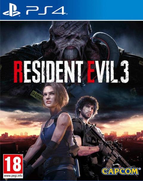 Resident Evil 3 (2020) sur PS4