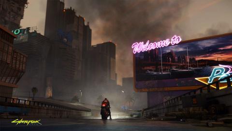 Cyberpunk 2077 : Les pages anglaise et américaine du Microsoft Store affichent un avertissement