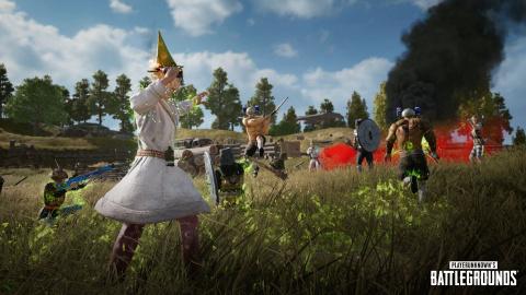 PUBG fête le 1er avril avec le mode Fantasy Battle Royale