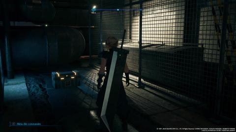 Coffres et Matérias du Chapitre 1 : Sabotage du réacteur Mako n°1