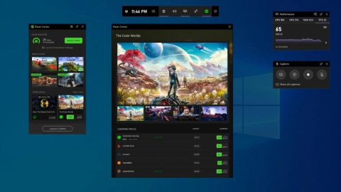 Xbox Game Bar : l'overlay Windows 10 ajoute une boutique de widgets