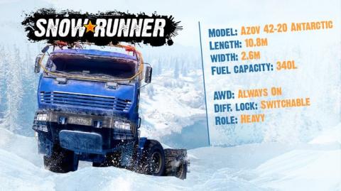 SnowRunner - Deux véhicules supplémentaires pour compléter votre collection