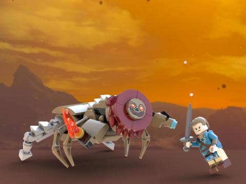 Lego : Un set Zelda Breath of the Wild proposé sur Lego Ideas