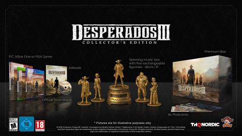 Desperados III : THQ Nordic dévoile son édition collector