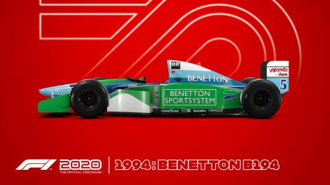 F1 2020 dévoile ses premières images ainsi que sa date de sortie
