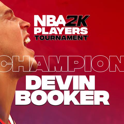 NBA 2K Players Tournament : Le champion Devin Booker revient sur sa victoire