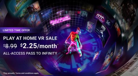 Viveport Infinity : Une offre d'un mois pour profiter de son catalogue VR