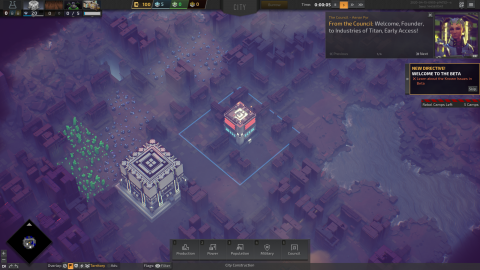 Industries of Titan : Un city builder qui prend de l'espace