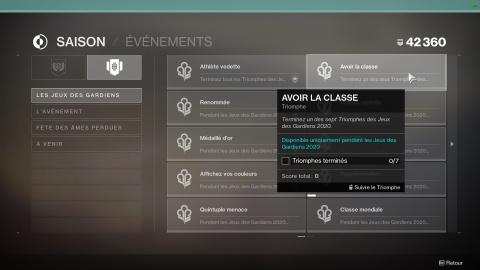 """Destiny 2 : comment récupérer l'arme exotique """"Héritage Évident"""""""