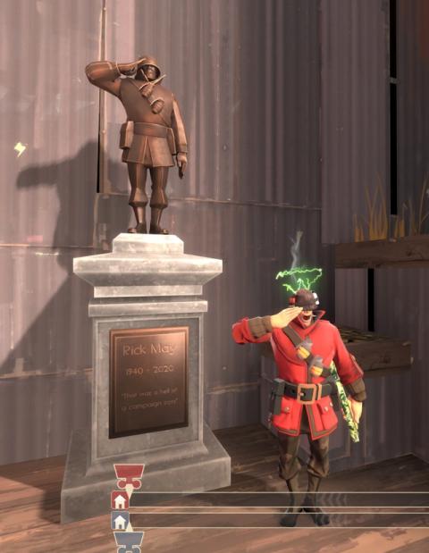 Team Fortress 2 : Un hommage à Rick May ajouté dans le jeu