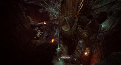 The Lord of the Rings : Gollum se montre pour la première fois