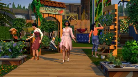Les Sims 4 se mettent à l'écologie avec une nouvelle extension
