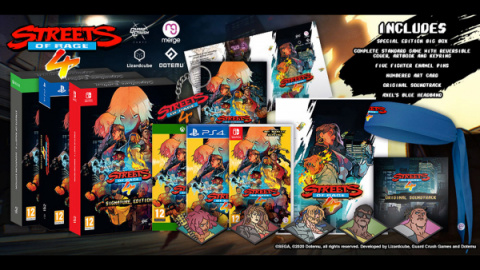 Streets of Rage 4 : DotEmu s'excuse pour la confusion concernant les éditions physiques