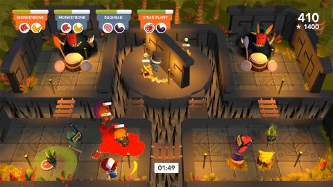 Cannibal Cuisine : Le party-game date sa sortie sur PC et Nintendo Switch