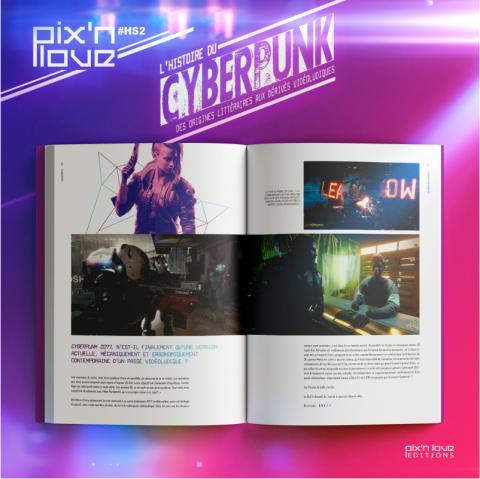 L'histoire du Cyberpunk : un nouvel ouvrage chez Pix'n Love