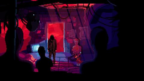 VirtuaVerse : le point'n click cyberpunk sortira demain sur PC, Mac et Linux