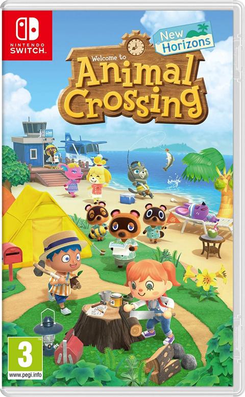 Nintendo Switch : Animal Crossing New Horizons à prix réduit