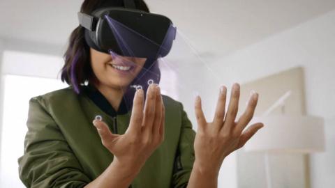 Manipuler la VR sans manettes : la curieuse proposition de Hand Physics Lab