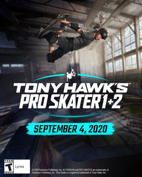Tony Hawk's Pro Skater 1+2 sur PS4