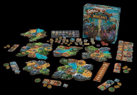 Days of Wonder annonce le jeu de société Small World of Warcraft