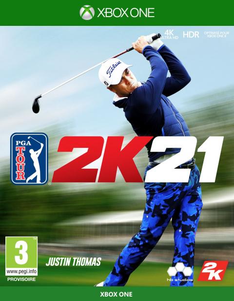 PGA Tour 2K21 sur ONE