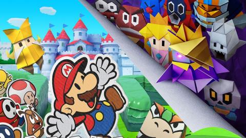 Paper Mario : The Origami King annoncé sur Nintendo Switch