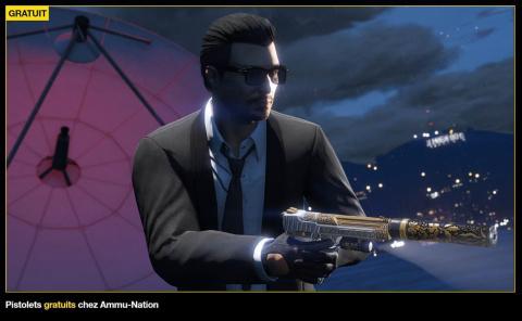 GTA Online : Récompenses doublées, pistolets gratuits et promotions de la semaine