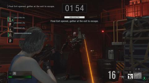 Resident Evil Resistance : Nemesis est désormais jouable