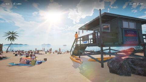 Lifeguard Simulator : La nouvelle création des rois du simulateur loufoque