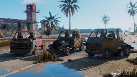 Rust : Les véhicules préparent leur arrivée en jeu
