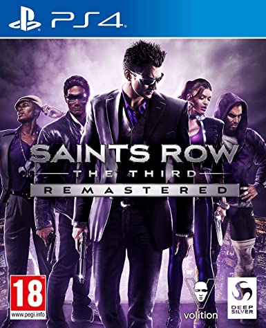 Saints Row : The Third Remastered sur PS4