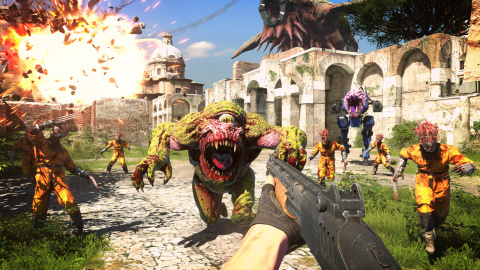 Les sorties du 24 septembre : Serious Sam 4, Tennis World Tour 2, Rollercoaster Tycoon 3 : Complete Edition...