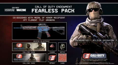 Call of Duty : Modern Warfare soutient les anciens combattants avec le pack Fearless