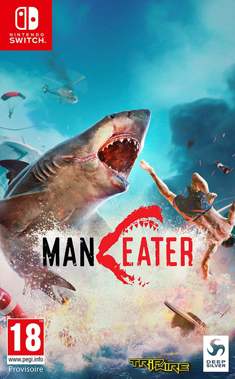 Maneater sur Switch