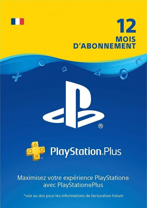 Abonnement PlayStation Plus 12 mois en promotion