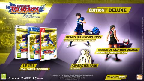 Captain Tsubasa : Rise of New Champions date sa sortie et dévoile ses différentes éditions (Vidéo)